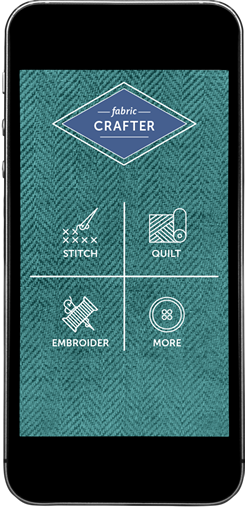 Fabric Crafter home screen